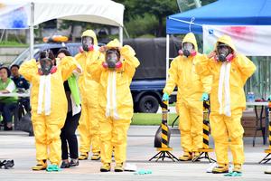 성남시 16일 생물테러 대비 민·관·군·경 모의훈련