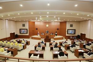 의정부시의회, 코로나19 관련 제296회 임시회 개회
